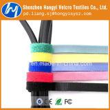 Нейлоновые красочные Soft-Hook и петлю кабеля