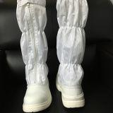 Steel Toe antistatique industrielle des bottes de sécurité pour salle blanche