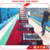 Ms hueco rectangular Pipe de la sección del tubo de acero del cuadrado de la fábrica de China