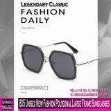 805 neue Unisexform-polygonale große Rahmen-Sonnenbrillen