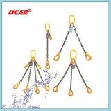 Imbragatura a catena di sollevamento galvanizzata hardware dell'acciaio di sartiame