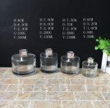[50مل] [100مل] [150مل] [200مل] شكل مستديرة مربّعة يخلو زجاجيّة نكهة قصبة ناشر زجاجة مع غطاء