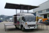 Sinotruk 4X2 야외 무대 승진 트럭 6t LED 단계 차량