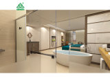新式のドバイ7組の星のホテルの典型的な組の居間の家具セット