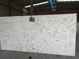 Le Café Blanc V125 / Dalle de quartz pour cuisine/salle de bains/mur/plancher