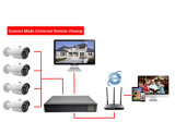 Spitzenverkauf HD Ahd Kamera-Installationssatz des CCTV-Kamera-Sicherheitssystem-4chs HD Ahd