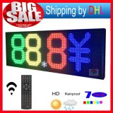 Visualización de LED a todo color al aire libre 52 '' x20 '' de P10 SMD RGB