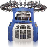 高速二重ジャージーによってコンピュータ化される転送の肋骨の円の編む機械2/3方法Djjtr