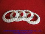 La resistencia al desgaste del ojal de cerámica de alúmina textil