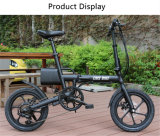 Shimano 6の速度の電気バイクを折る16インチのAlの合金