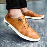 С возможностью горячей замены оригинальных мужчин зимой повседневная обувь, рабочая обувь и второго уровней кожаную обувь мужчин
