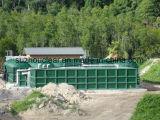 Abwasserbehandlung-Pflanzenmembranen-Bioreaktor-inländisches Abwasser-Behandlung
