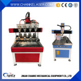 Миниые машины CNC для вырезывания гравировки Alumnium деревянного металла акрилового