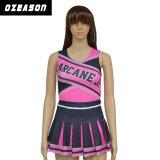 De hete Verkoop paste de In het groot Slijtage van Spandex aan Dnace Uniformes Cheerleading