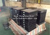 Elastomeric Dragende die Stootkussens van de Brug van Cr Rubber aan Pakistan worden verkocht