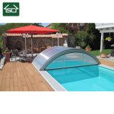 Cubierta retractable de la piscina del diseño popular con el marco de aluminio durable