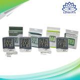 L'intérieur numérique Max Min Thermomètre et hygromètre avec horloge