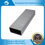 Pipe rectangulaire/tube d'acier inoxydable du prix usine 304 pour la construction