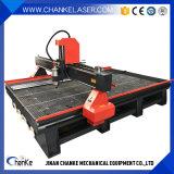 機械小型CNCの木版画機械を広告する3軸線