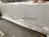 Controsoffitto di marmo bianco della Cina Carrara per la cucina e la stanza da bagno