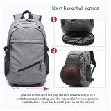 Спортивная школа сумку рюкзак с баскетбол Net соединение USB