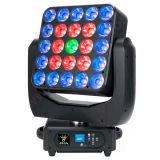 Indicatore luminoso mobile del fascio della testa LED dei paraocchi della tabella 5X5