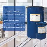 Adhésif élevé deux parts de puate d'étanchéité structurale de silicones avec le prix bon marché