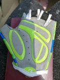 夏半分指の自転車の手袋を競争させるカスタムGel/EVAのバイクの乗馬