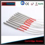 管状の電気発熱体のカートリッジヒーター
