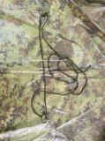 210t polyester met de pvc Met een laag bedekte Poncho van de Regen