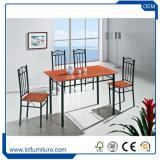 Tabelle pranzanti di legno della mobilia all'ingrosso delle merci domestiche con le presidenze da vendere