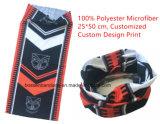 Prodotti Microfiber stampato marchio su ordinazione Headwear multifunzionale senza giunte elastico dell'OEM della fabbrica