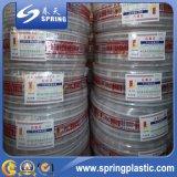 Feito na mangueira de jardim reforçada flexível resistente do PVC do ozônio de China