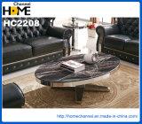 Tabella pranzante di marmo del nuovo quadrato moderno della mobilia (HC2312)