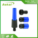 Bocal plástico giratório durável ajustado do pulverizador do bocal da mangueira de jardim para a agricultura