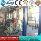 Machine de roulement de plaque d'acier inoxydable du rouleau W12 quatre pour la chaîne de production de tour de vent