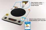 La cocina estupenda de la inducción salva el temporizador de la energía función del múltiplo de 500 grados