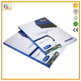 Высокое обслуживание печатание брошюры Qaulity цветастое