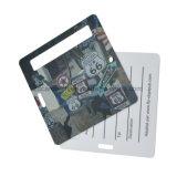 Custom печать ПВХ багажа в самолете тег индекса для поездок