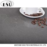 Surtidor artificial gris profundo chino de la encimera de la cocina del cuarzo