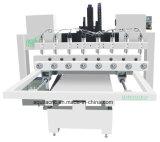 Macchina per incidere rotativa di falegnameria del router di CNC 3D di asse del superiore quattro