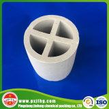 Boucle d'emballage en travers en céramique de partition d'alumine