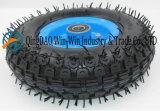 3.50-5 rubberWiel met de Rand van /Plastic van het Staal