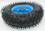 3.50-5 Roda de borracha com a borda de aço de /Plastic