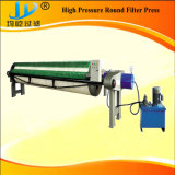 Prensa de filtro de alta presión del diafragma/de membrana usada para el lodo de las aguas residuales
