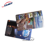 Cartão por atacado do PVC RFID da impressão com impressão feita sob encomenda