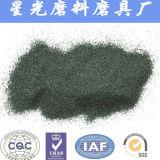 Зеленый карбид кремния твердых частиц порошка песка обработка 600 меш