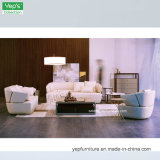 Table basse en verre réglée en bois solide de sofa pour les meubles de maison de salle de séjour (T8227)