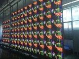 A alta resolução P3 Display LED para interior com armário de Fundição de 576x576mm