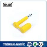 Einmaliger Gebrauch-Schutzkappen-Plastikverschluss-Antibesetzer-offensichtliche hohe Sicherheits-Behälter-Schrauben-Dichtung
